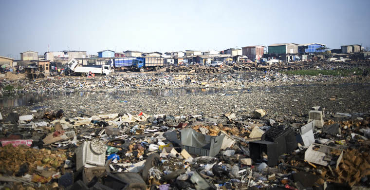Agbogbloshie - cel mai poluat