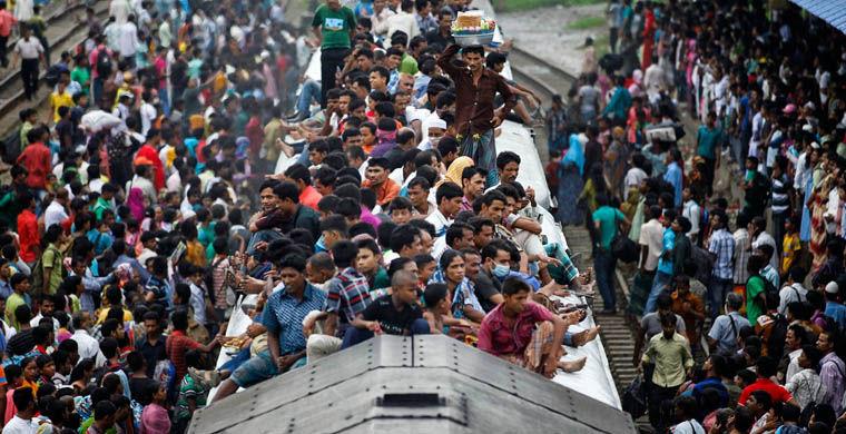 Dacca - orașul cel mai dens populat