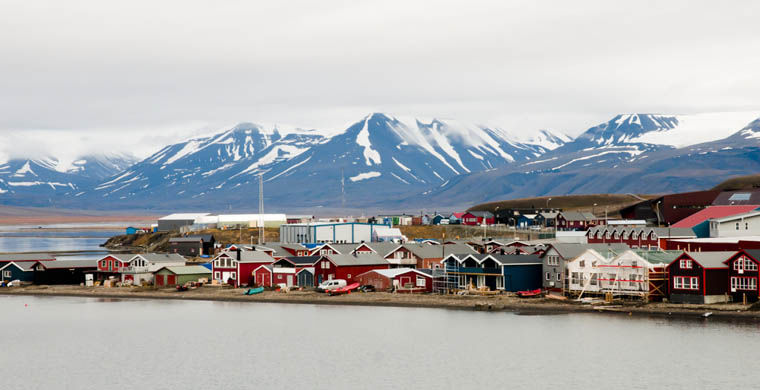 Longyearbyen - cel mai rece